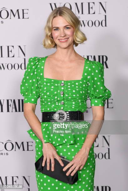 January Jones attends the Vanity Fair and Lancôme Women in Hollywood celebration at Soho House on February 06 2020 in West Hollywood California