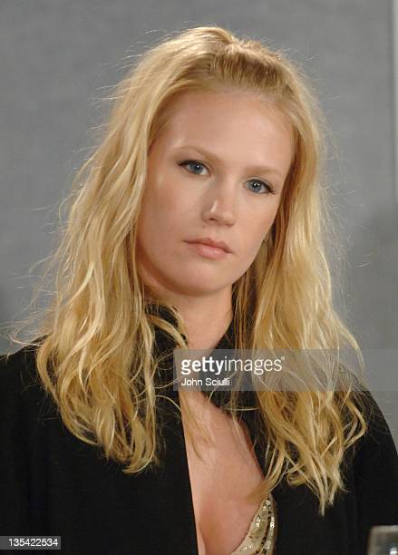 January Jones during 2005 Toronto Film Festival 'The Three Burials of Melquiades Estrada' Press Conference at Sutton Place in Toronto Canada