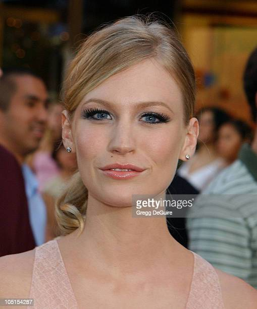 January Jones during 'American Wedding' Premiere in Universal City California United States