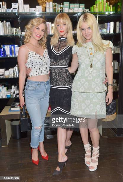January Jones Jaime King and Alice Eve attend Beats by Dre for VIOLET GREY Party on July 11 2018 in Los Angeles California