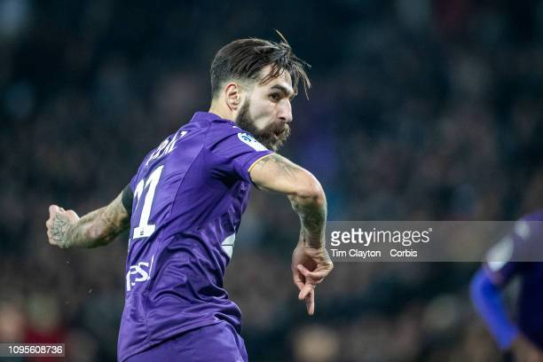 January16: Jimmy Durmaz of Toulouse scores from the penalty spot during the Toulouse FC V Lyon, Ligue 1 France regular season match at Stadium...