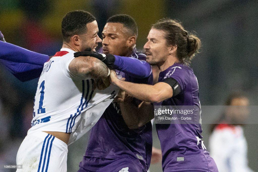 Toulouse FC V Lyon, Ligue 1, France. : News Photo