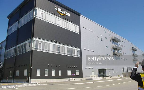 YOKOHAMA Japan A new distribution center of Amazon Japan KK begins operations in Odawara Kanagawa Prefecture on Sept 3 2013