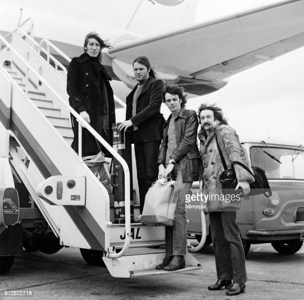 A Japan Air DC8 jet airliner has been chartered by the British progressive music group Pink Floyd to take the group and their equipment to Japan for...