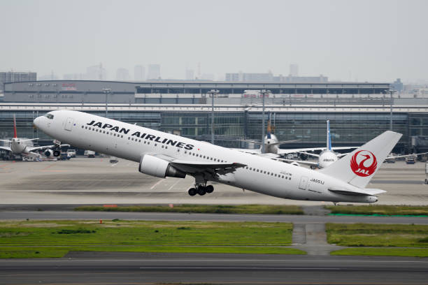JPN: Japan Airlines Co. And All Nippon Airways Co. Aircraft at Haneda Airport
