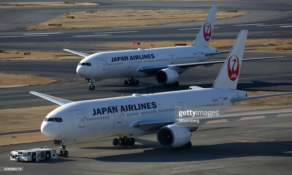 Japan Airlines Co. And All Nippon Airways Co. Aircraft Ahead Of Third-Quarter Results : News Photo