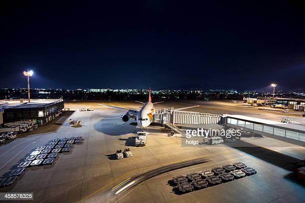 日本航空面では、大阪 itami 空港 - 大阪国際空港 ストックフォトと画像