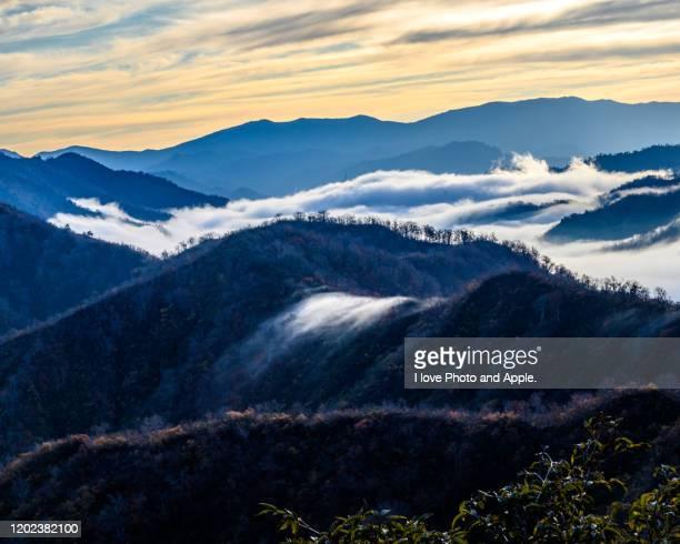 japan autumn scenery - 新潟県 ストックフォトと画像