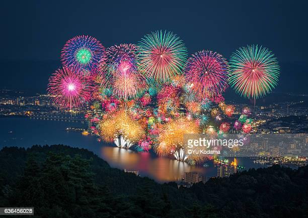 Japan Biwako fireworks festival