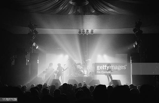 Japan , British New Wave band, during a live concert performance at the Music Machine in Camden, London, England, Great Britain, in March 1978.