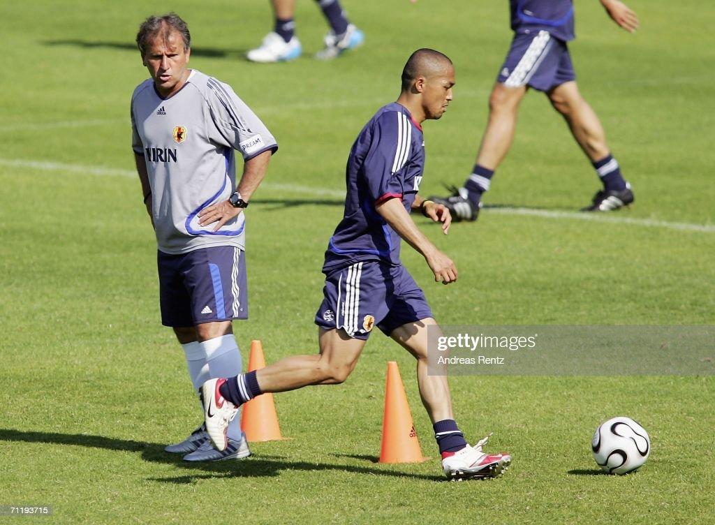 Japan National Team Training Session : ニュース写真