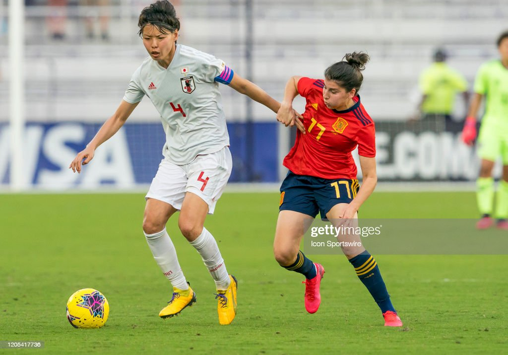 SOCCER: MAR 05 Women's SheBelieves Cup - Spain v Japan : Fotografía de noticias