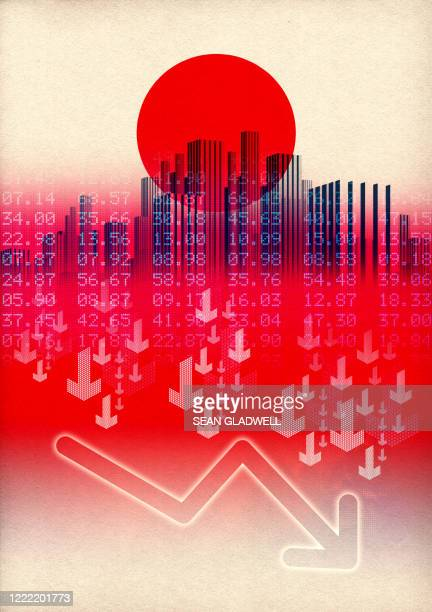 japan downturn - recession stock pictures, royalty-free photos & images