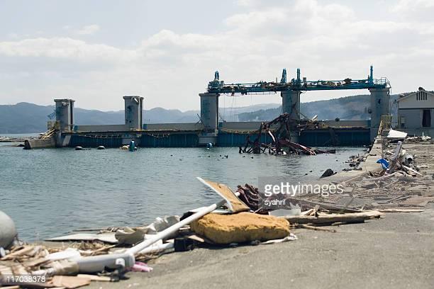 Japan earth quake and tsunami, March 11th.