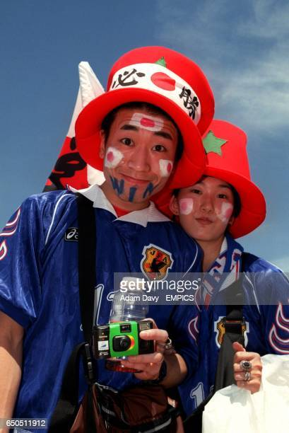 Japan fans before the game with Croatia