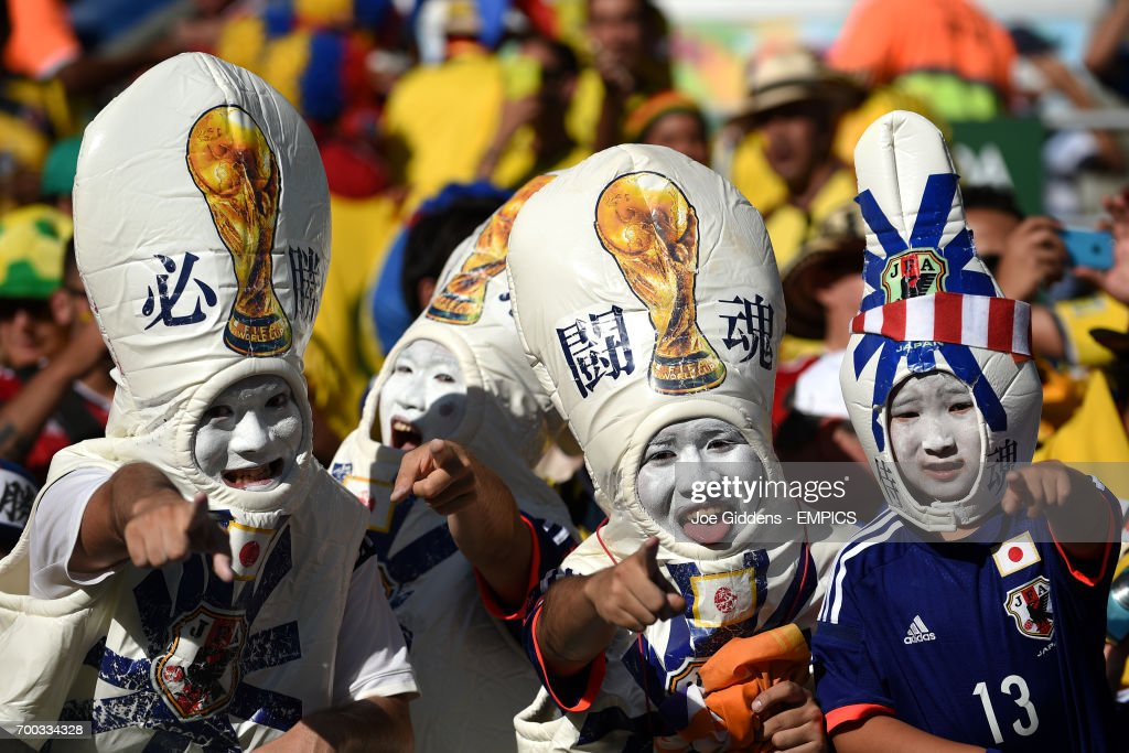 Soccer - FIFA World Cup 2014 - Group C - Japan v Colombia - Arena Pantanal : News Photo