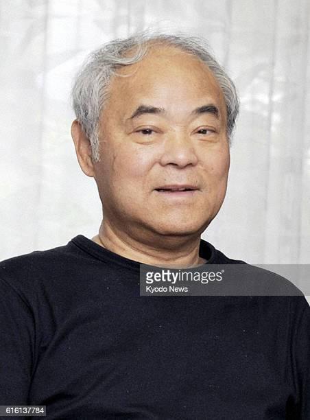TOKYO Japan File photo taken in July 2011 shows Keiji Nakazawa author of 'Hadashi no Gen' an iconic Japanese comic about the 1945 Hiroshima atomic...