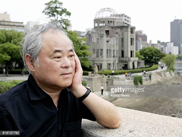 TOKYO Japan File photo taken in June 2008 shows Keiji Nakazawa author of 'Hadashi no Gen' an iconic Japanese comic about the 1945 Hiroshima atomic...