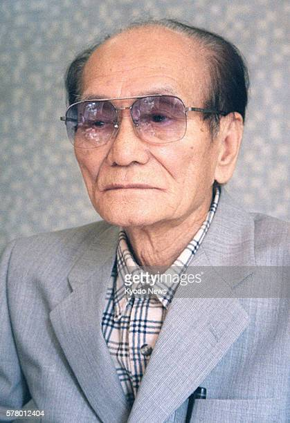 TOKYO Japan File photo taken in September 2000 shows Takashi Nagase a former Japanese military interpreter and philanthropist who died June 21 at the...