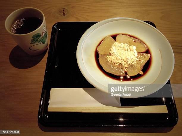 Japan gelatin and powder sweet
