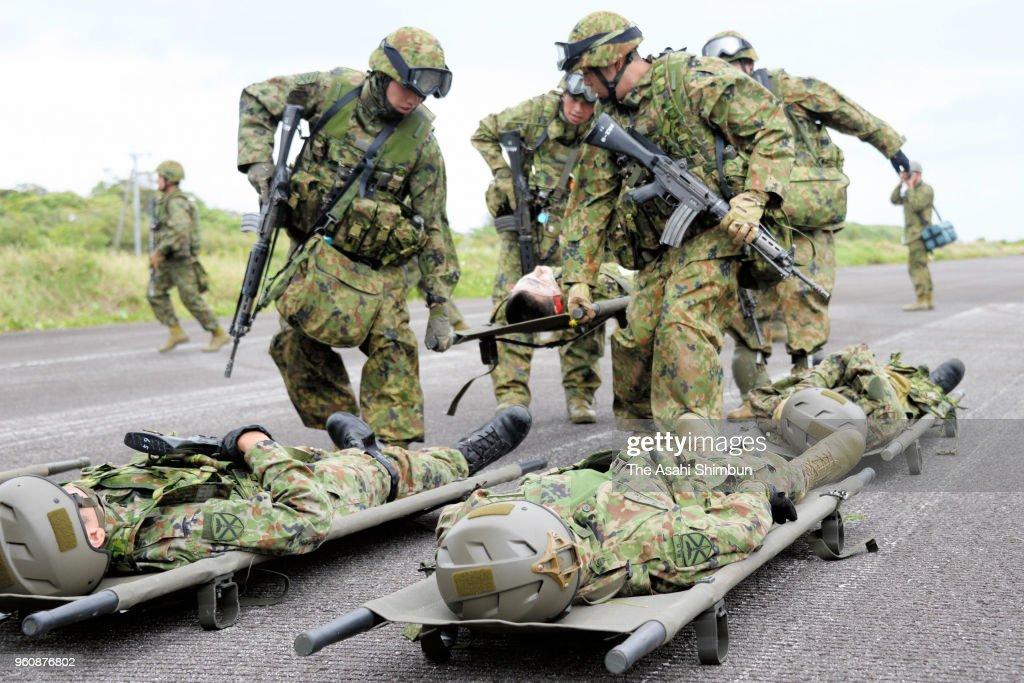 JGSDF Amphibious Rapid Deployment Brigade Opens Exercise