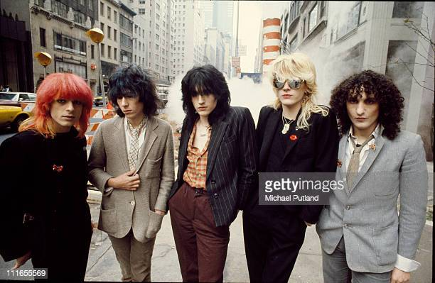 Japan group portrait New York September 1979 LR Mick KarnRichard BarbieriSteve JansenDavid SylvianRob Dean