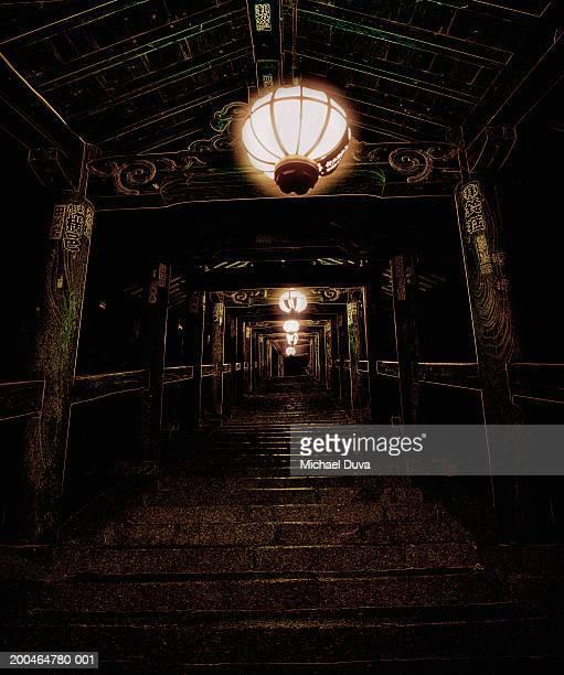 Japan, Hanshu, Kansai, Nara, Hase-dera Temple interior
