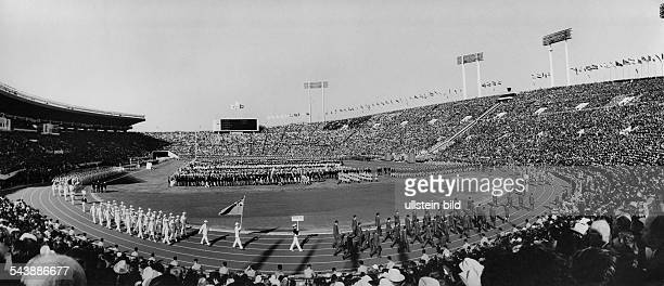 Japan Honshu Tokyo Opening ceremony of the Summer Olympics in Tokio Photographer Jochen Blume undatedVintage property of ullstein bild