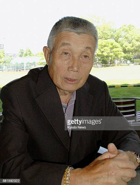 TOKYO Japan Japanese golfer Teruo Sugihara speaks in an interview in June 2010 Sugihara with a professional career lasting more than 50 years died of...