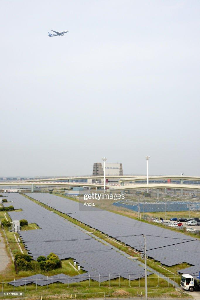 Kawasaki Solar Power Plant. : News Photo