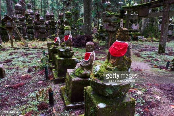 Japan, Kumano Kodo, Koya San, Okunoin, buddhist cemetery