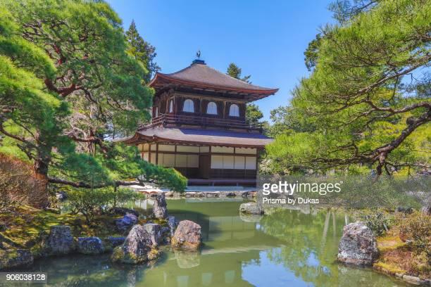 Japan Kyoto CityGinkakuJi Pavilion