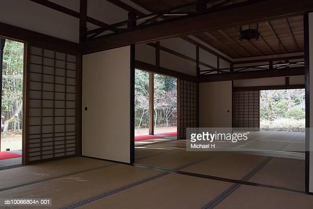 japan, kyoto, interior of daitoku-ji temple - 和室 ストックフォトと画像
