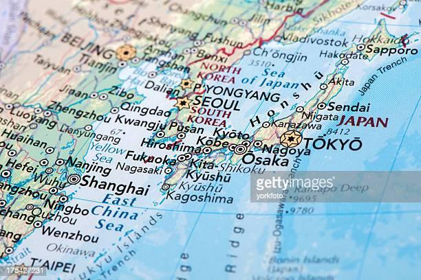 日本のマップ