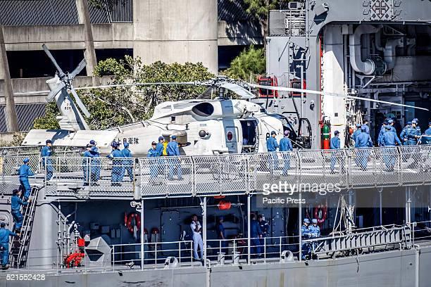 ISLAND SYDNEY NSW AUSTRALIA Japan Maritime SelfDefense Force Hatsuyukiclass destroyer JDS Asayuki pictured docked at the Royal Australian Navy HMAS...