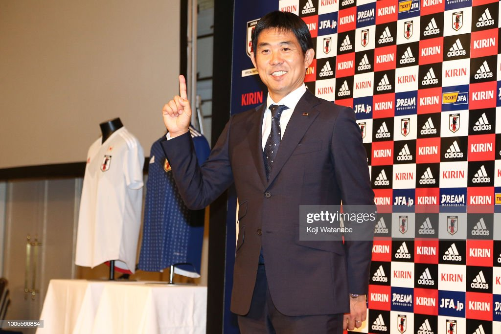 JFA Appoints New National Team Head Coach : ニュース写真