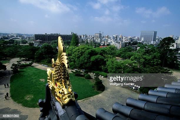 Japan Okayama Castle View Of Okayama City