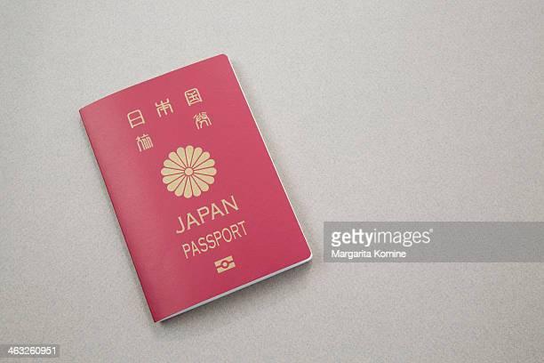 japan passport - パスポート ストックフォトと画像