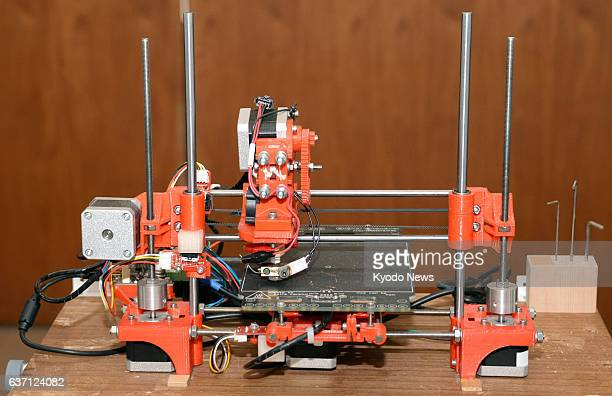 YOKOHAMA Japan Photo taken May 8 shows a seized threedimensional printer which created two guns that could lethally fire real bullets at Kanagawa...