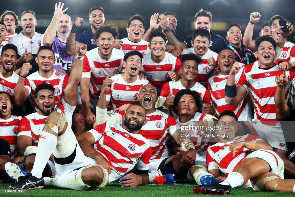 Japan v Scotland - Rugby World Cup 2019: Group A : ニュース写真