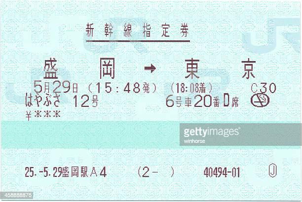 Japan Shinkansen Ticket