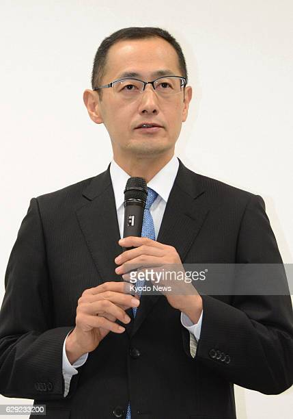 Japan - Shinya Yamanaka, who heads Kyoto University's Center for iPS Cell Research and Application, holds a press conference at the university in...