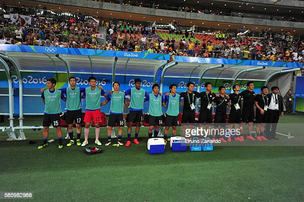 Japan team at Arena Amazonia on August 4 2016 in Manaus Brazil