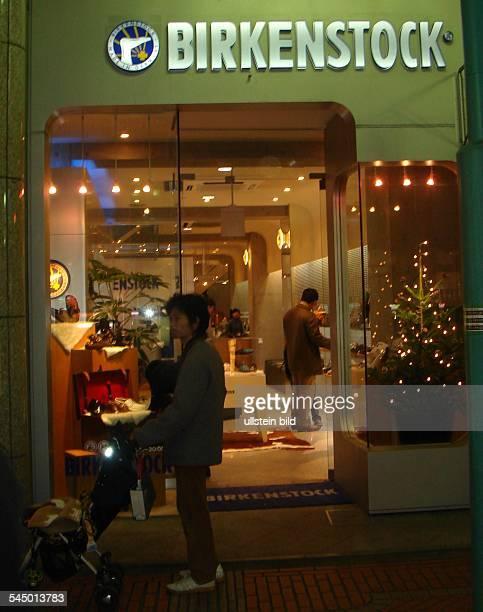 shoe shop of the Birkenstock company