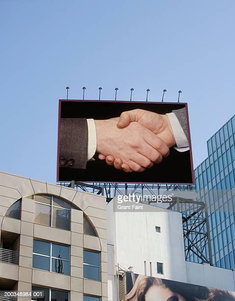japan, tokyo, billboard (digital composite) - 商業看板 ストックフォトと画像