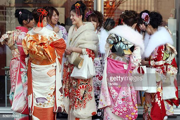 ceremony of ComingofAge Day Japanese annual event which is dedicated to the nation's young people who have reached the age of 20 It's held on the...