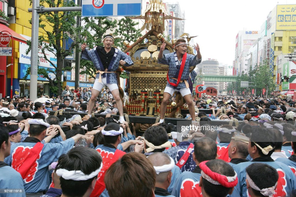 Kanda matsuri, Shinto festival. : News Photo
