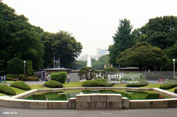 japan: tokyo national museum - ueno park stock photos and pictures