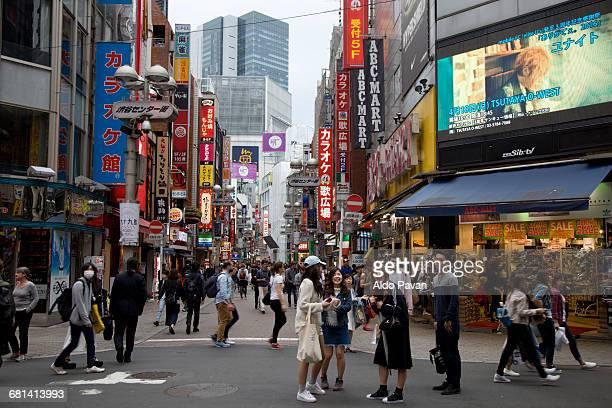 Japan, Tokyo, Shibuya district