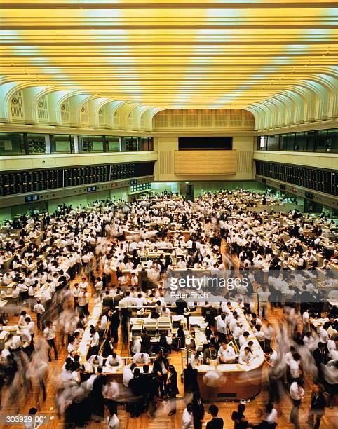 Japan, Tokyo Stock Exchange, trading floor